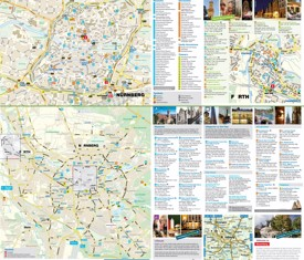Nürnberg tourist map