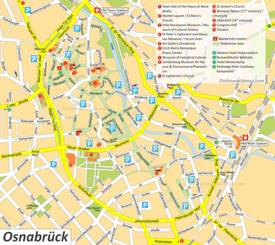 Osnabrück Tourist Map