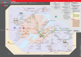 Potsdam night transport map