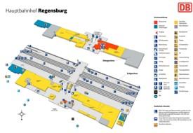 Regensburg hauptbahnhof map