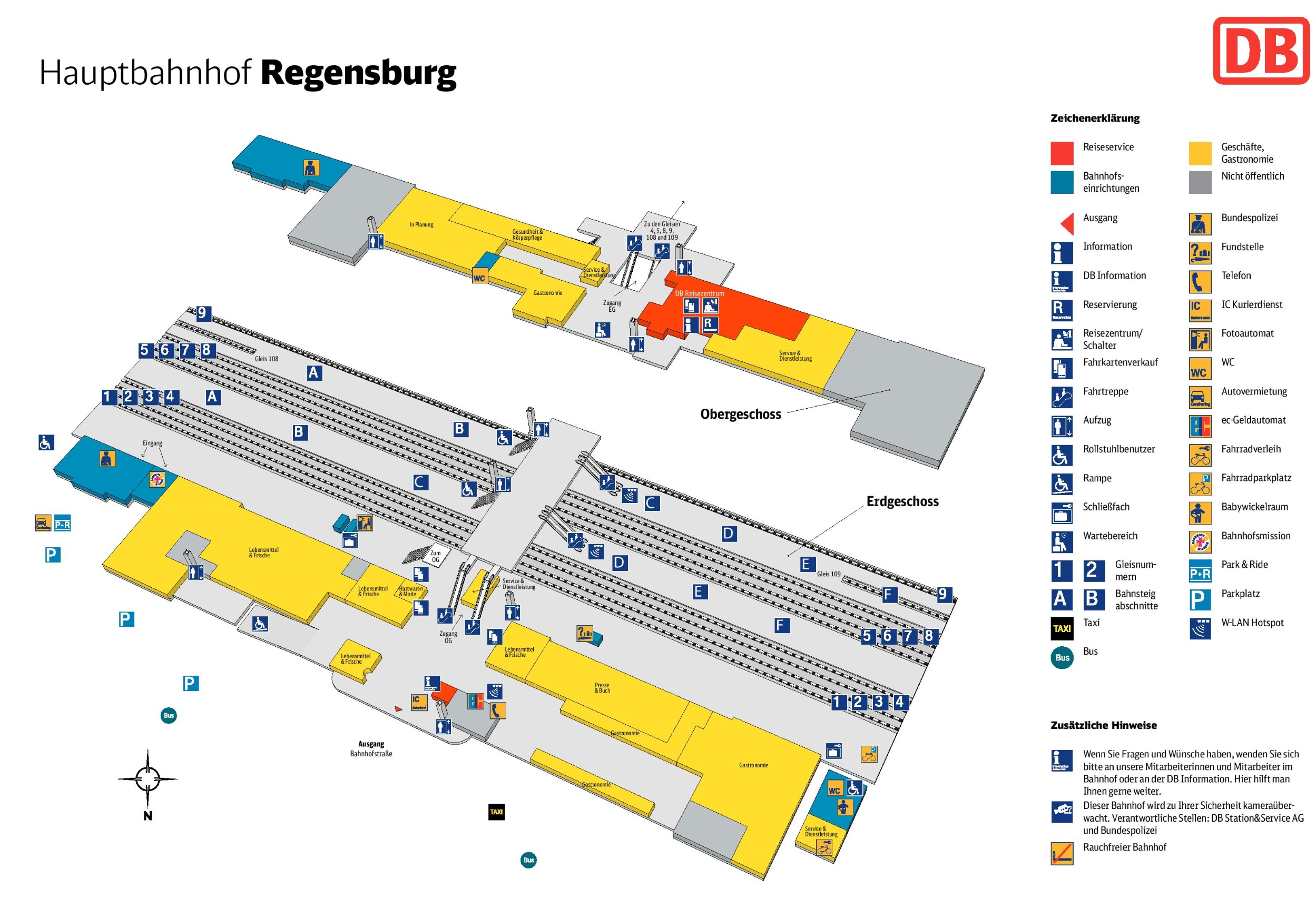 regensburg hauptbahnhof map. Black Bedroom Furniture Sets. Home Design Ideas