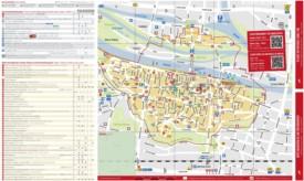 Regensburg sightseeing map