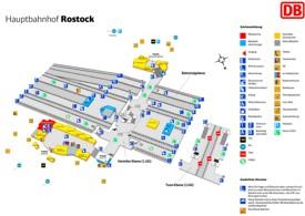 Rostock hauptbahnhof map