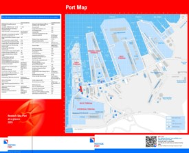 Rostock port map