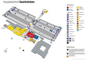 Saarbrücken Hauptbahnhof Map