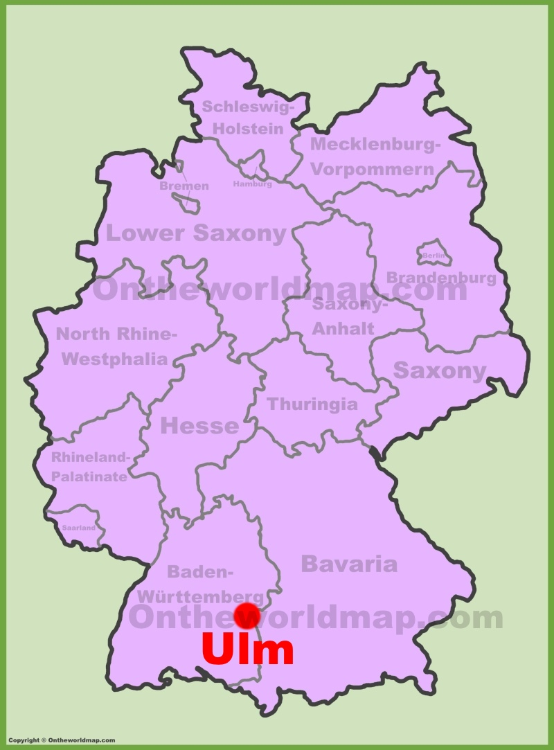 Map Of Germany Ulm.Ulm Maps Germany Maps Of Ulm