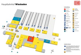 Wiesbaden hauptbahnhof map
