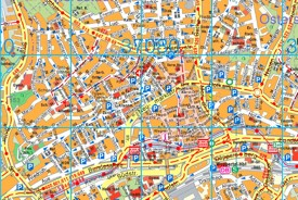 Wuppertal tourist map