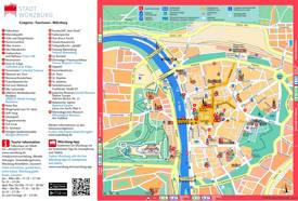 Würzburg Tourist Map