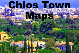 Chios Maps Greece Maps of Chios Island