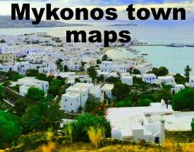 Mykonos Town maps