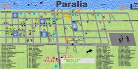 Paralia hotel map