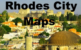 Rhodes City maps