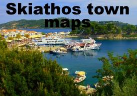 Skiathos Maps Greece Maps of Skiathos Island