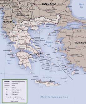 Greece Maps Maps of Greece