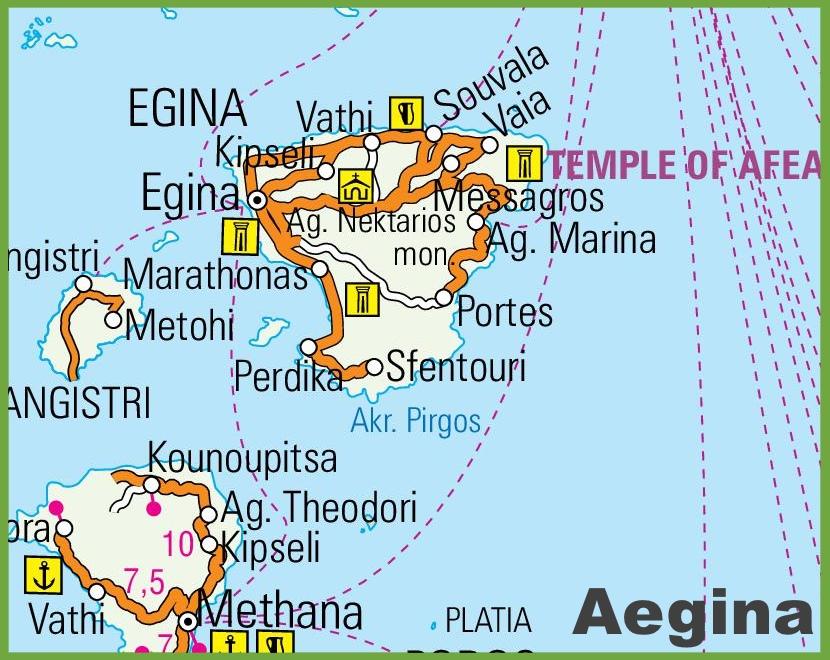 Aegina Road Map