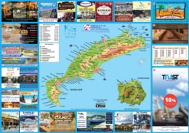 Kos tourist map