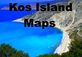 Kos island maps
