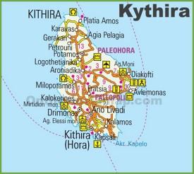 Kythira road map