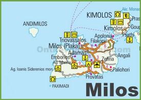 Milos road map