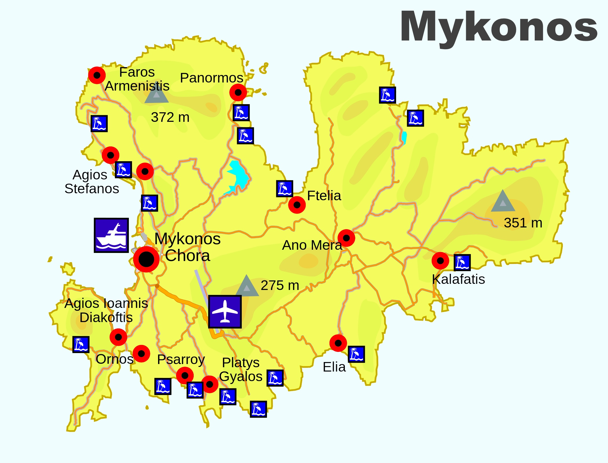 maps of all countries with Mykonos Beaches Map on Where Is Brindisi in addition Where Is Venlo as well Novasca additionally GB 0722 together with Sagrada Familia AJP 3277.