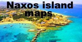 Naxos island maps
