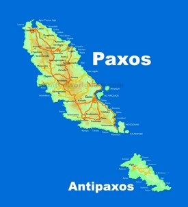 Paxos and Antipaxos map