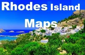 Rhodes island maps