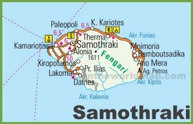 Samothraki road map