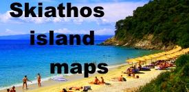 Skiathos island maps