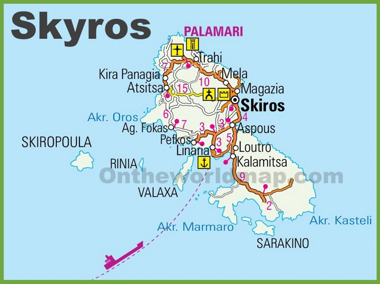 Skyros road map