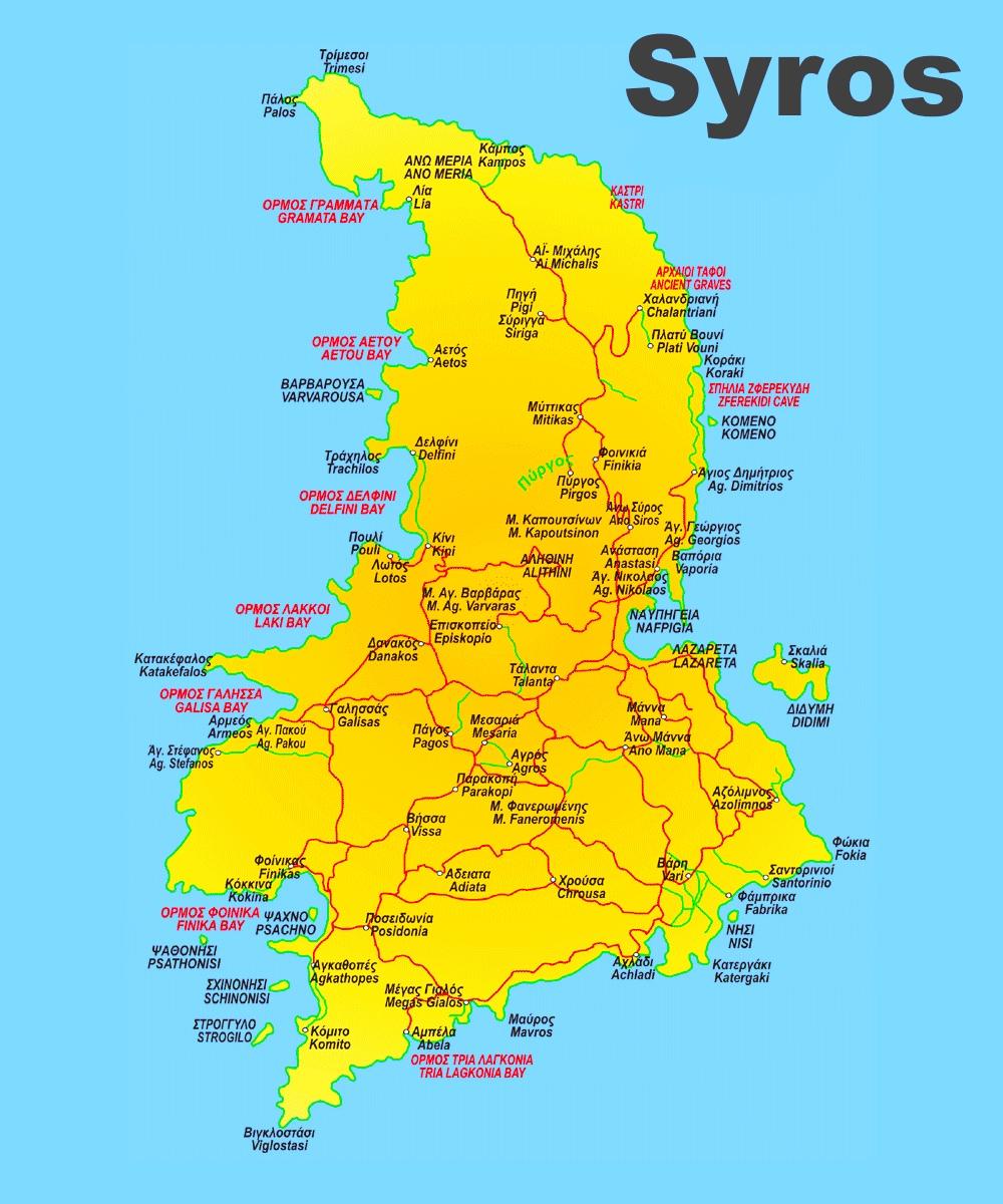 Syros road map
