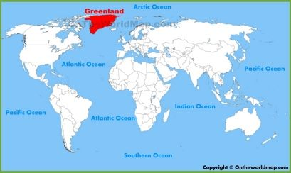Greenland Location Map