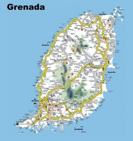 Grenada Maps Maps Of Grenada - Grenada maps with countries