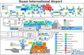 Guam International Airport Map