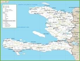 Haiti road map