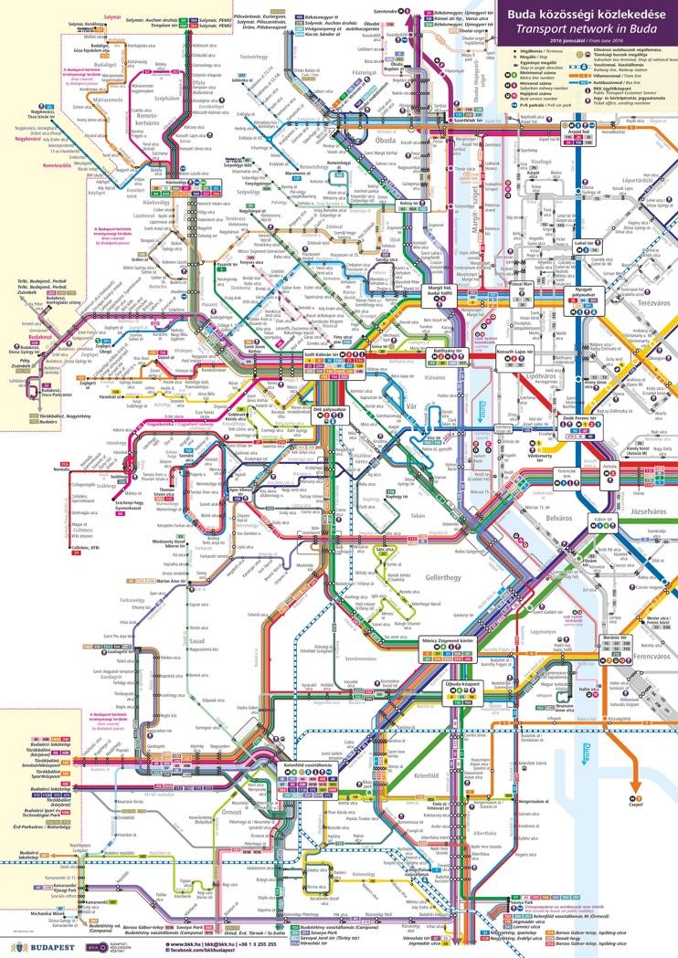 Buda transport map