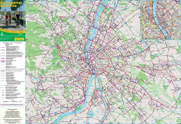 Budapest bike map
