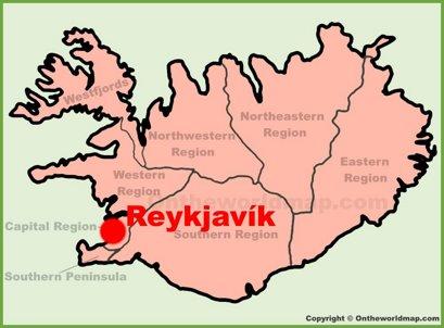 Reykjavík Location Map