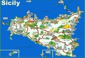 World maps maps of all countries cities and regions of the world sicily maps gumiabroncs Choice Image