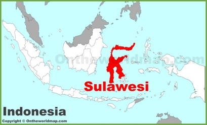 Sulawesi Location Map