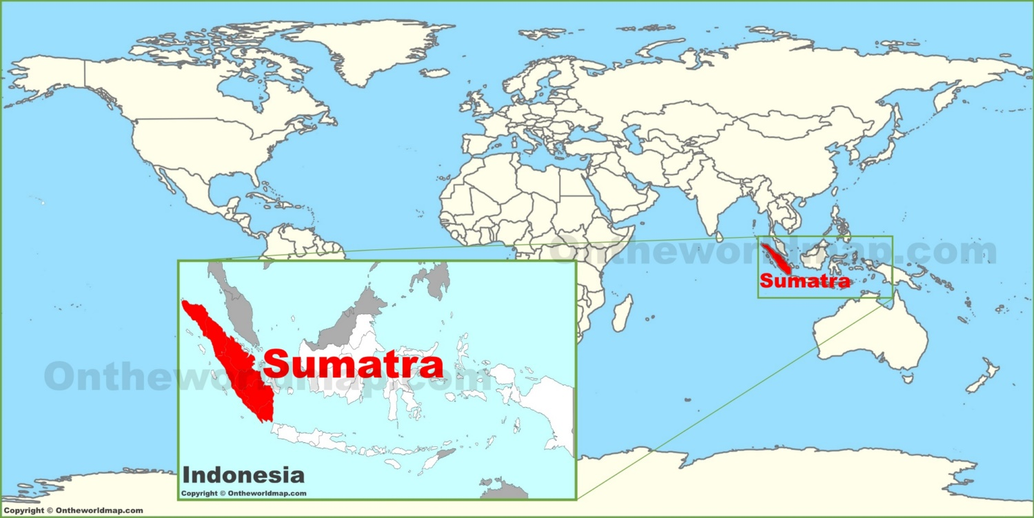 Sumatra on the world map sumatra on the world map gumiabroncs Images