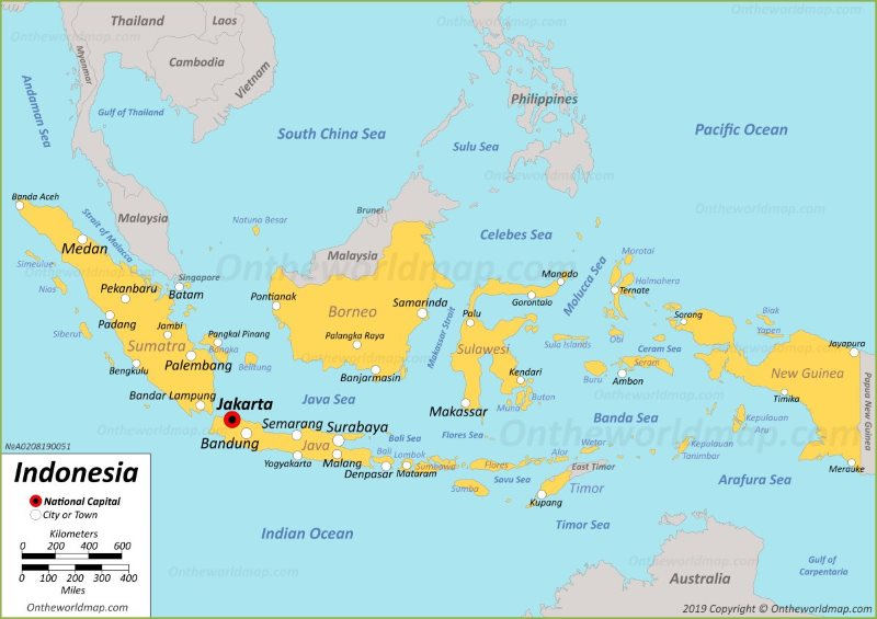 Indonesia Maps | Maps of Indonesia