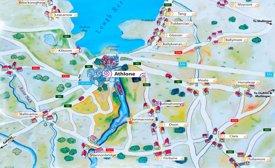 Athlone area map