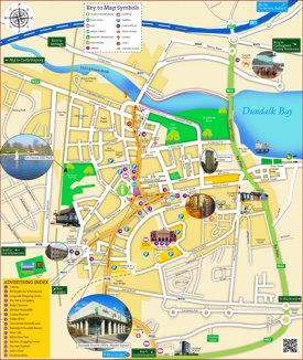 Dundalk tourist map