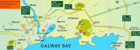 Galway area map