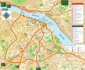 Waterford tourist map