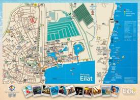 Eilat hotel map