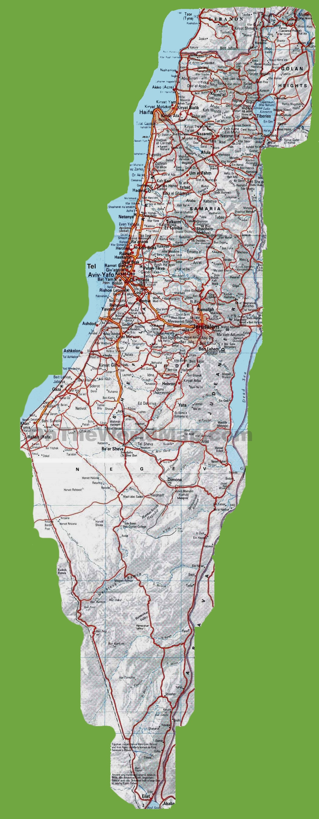 Israel Maps | Maps of Israel