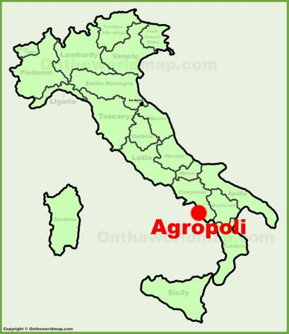 Agropoli Location Map